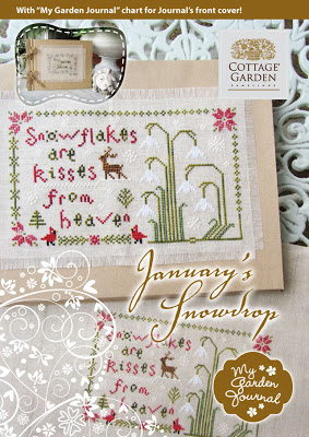 Cottage Garden Samplings - January's Snowdrop - My Garden Journal