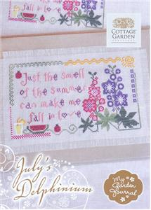 Cottage Garden Samplings - July's Delphinium - My Garden Journal