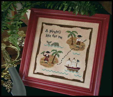 Country Cottage Needleworks - A Pirate's Life
