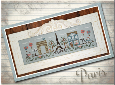 Country Cottage Needleworks - Afternoon in Paris
