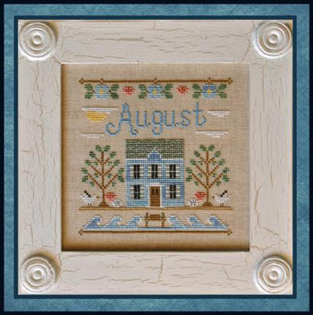 Country Cottage Needleworks - August Cottage of the Month