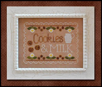 Country Cottage Needleworks - Cookies and Milk