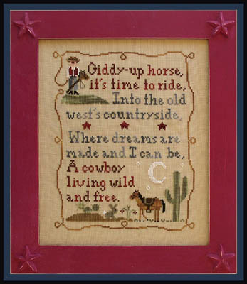 Country Cottage Needleworks - Cowboy Dreams
