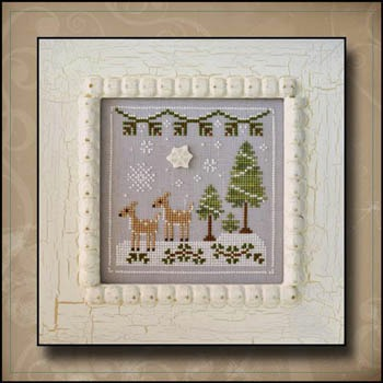 Country Cottage Needleworks - Frosty Forest Part 2 - Snowy Deer