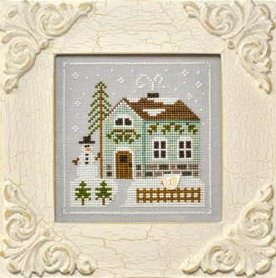 Country Cottage Needleworks - Frosty Forest Part 3 - Snowman's Cottage