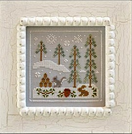 Country Cottage Needleworks - Frosty Forest Part 4 - Snowy Friends