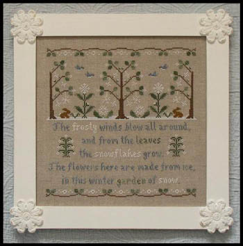 Country Cottage Needleworks - Garden of Snow