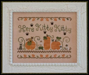 Country Cottage Needleworks - Here Kitty, Kitty