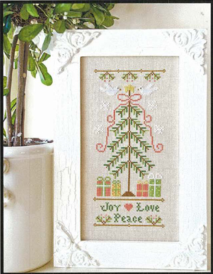 Country Cottage Needleworks - Joy, Love, Peace
