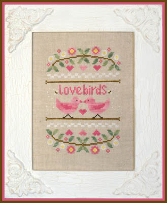 Country Cottage Needleworks - Lovebirds