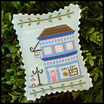 Country Cottage Needleworks - Main Street Part 5 - Art Gallery