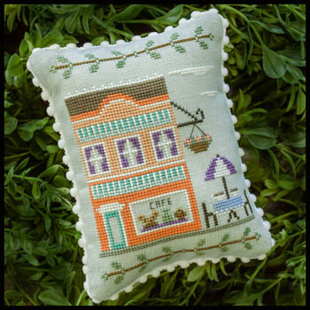 Country Cottage Needleworks - Main Street Part 7 - Cafe
