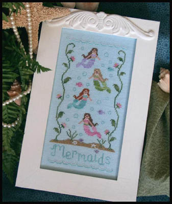 Country Cottage Needleworks - Mermaids
