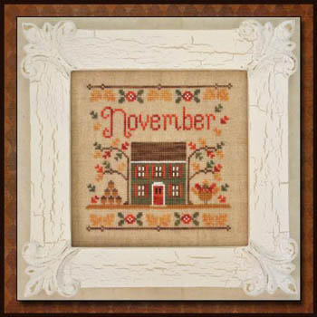 Country Cottage Needleworks - November Cottage of the Month