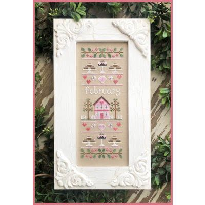 Country Cottage Needleworks - Sampler of the Month - February