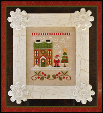 Country Cottage Needleworks - Santa's Village #1 - Santa's House
