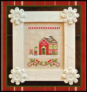 Country Cottage Needleworks - Santa's Village #11 - Elves' Workshop