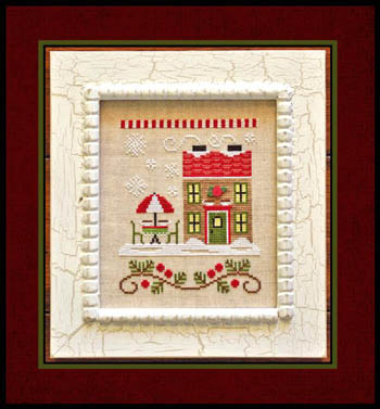 Country Cottage Needleworks - Santa's Village #12 - Hot Cocoa Cafe
