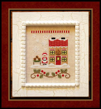 Country Cottage Needleworks - Santa's Village #4 - Mrs Claus' Cookie Shop