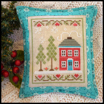 Country Cottage Needleworks - Snow Place Like Home #2