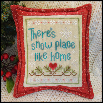 Country Cottage Needleworks - Snow Place Like Home #3