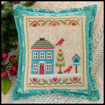Country Cottage Needleworks - Snow Place Like Home #4