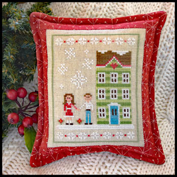 Country Cottage Needleworks - Snow Place Like Home #5