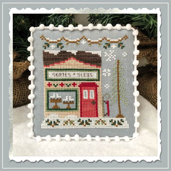 Country Cottage Needleworks - Snow Village - Part 2 - Skate and Sled Shop
