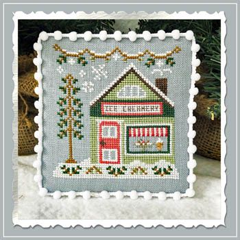 Country Cottage Needleworks - Snow Village - Part 9 - Ice Creamery