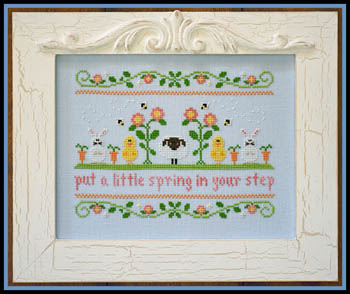 Country Cottage Needleworks - Spring in your Step