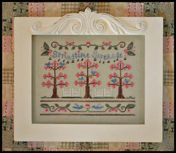 Country Cottage Needleworks - Springtime Serenade