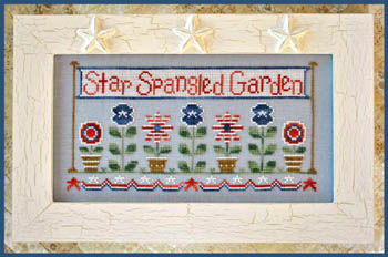 Country Cottage Needleworks - Star Spangled Garden