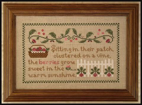 Country Cottage Needleworks - The Raspberry Patch