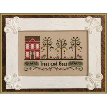 Country Cottage Needleworks - Trees and Bees