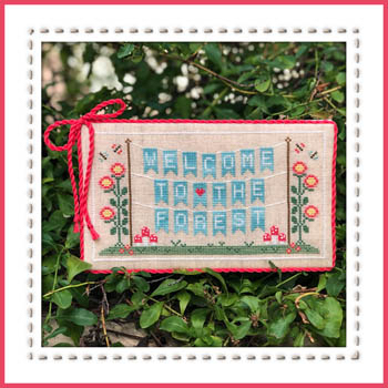 Country Cottage Needleworks - Welcome to the Forest - Part 1 - Forest Banner
