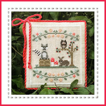 Country Cottage Needleworks - Welcome to the Forest - Part 3 - Forest Raccoon and Friends