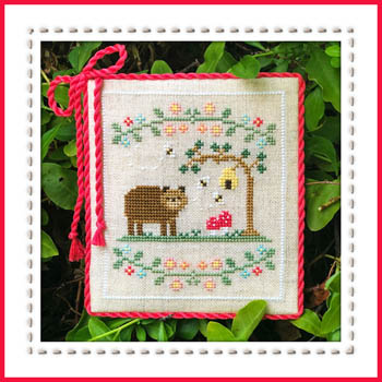 Country Cottage Needleworks - Welcome to the Forest - Part 7 Forest Bear