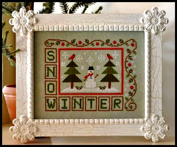 Country Cottage Needleworks - Winter Snow