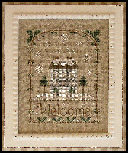 Country Cottage Needleworks - Winter Welcome