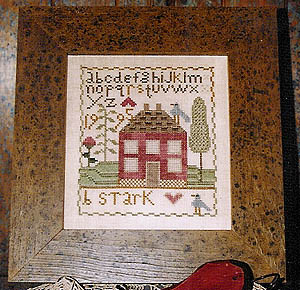 Ewe and Eye and Friends - Red House Sampler