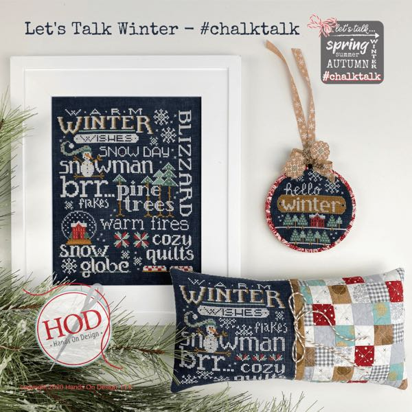 Hands on Design - Chalk Talk - Let's Talk Winter