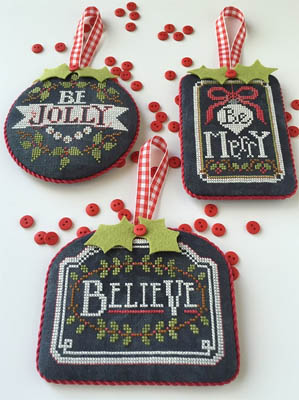 Hands on Designs - Chalkboard Ornaments - Christmas Collection Part One