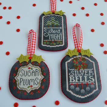 Hands on Designs - Chalkboard Ornaments - Christmas Collection Part Three