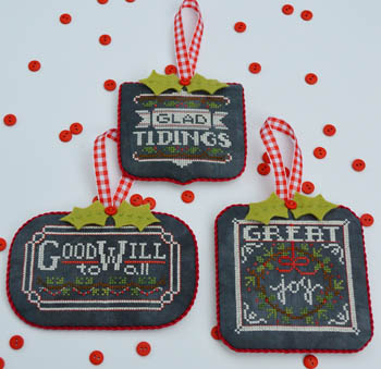 Hands on Designs - Chalkboard Ornaments - Christmas Collection Part Two