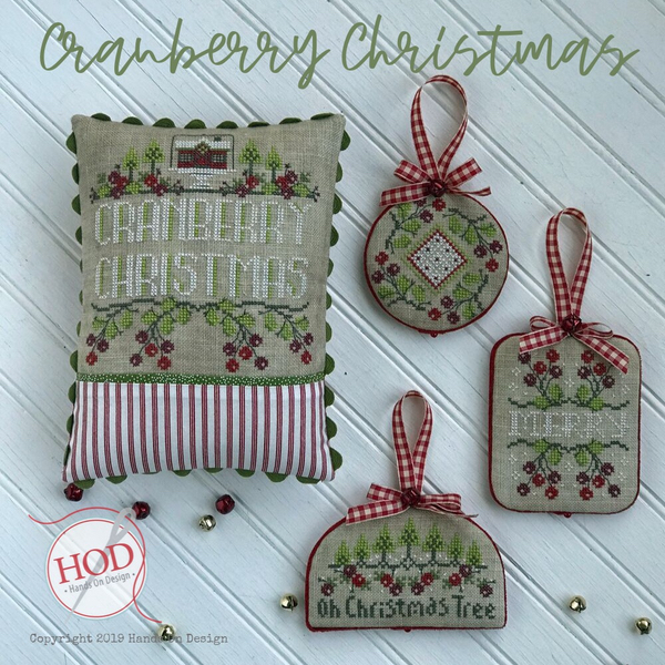 Hands on Designs - Cranberry Christmas