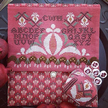 Hands on Designs - Pomegranate Pocket and Pincushion
