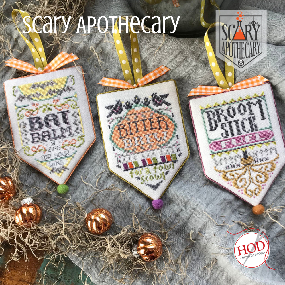 Hands On Designs - Scary Apothecary Pattern of the Month Club