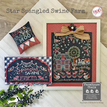 Hands on Designs - Star Spangled Swine Farm