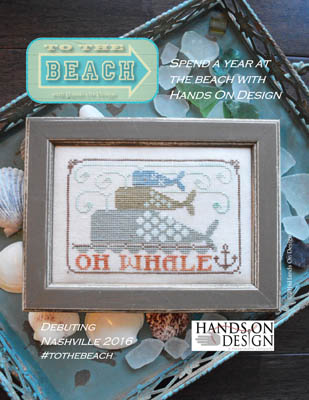 Hands on Designs - To The Beach #1 - Oh Whale