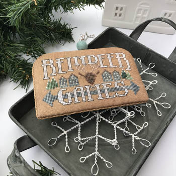 Hands on Designs - White Christmas #6 - Reindeer Games